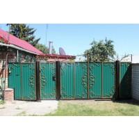 ворота кованые В080