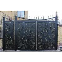 Ворота кованые В083