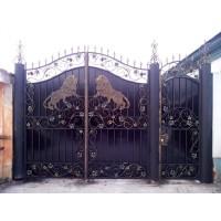 Ворота кованые В084