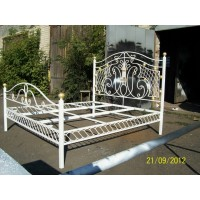 кованные кровати К002