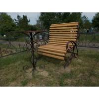 кованые скамейки С003