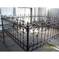 кованые оградки КО005