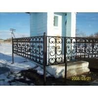 кованые оградки КО006