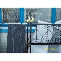 кованые оградки КО015