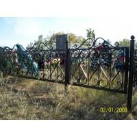кованые оградки КО024