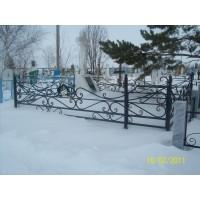 кованые оградки КО029