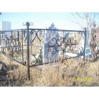 кованые оградки КО033