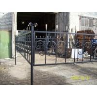 кованые оградки КО050