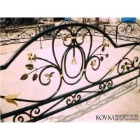 кованые оградки КО052
