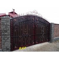 ворота кованые ВК001