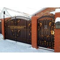 ворота кованые ВК002