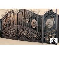 ворота кованые ВК003