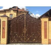 ворота кованые ВК004