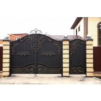 ворота кованые ВК005