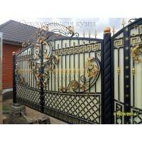 ворота кованые ВК006