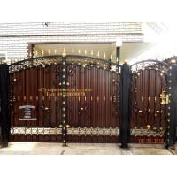 ворота кованые ВК007