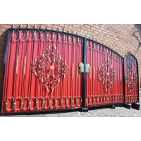 ворота кованые ВК008