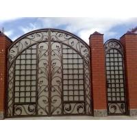 ворота кованые ВК009