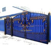 ворота кованые ВК010
