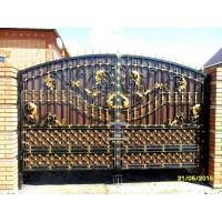 ворота кованые ВК011