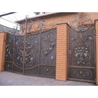 ворота кованые ВК012
