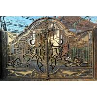 ворота кованые ВК013