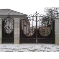 ворота кованые ВК014