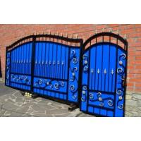 ворота кованые ВК015