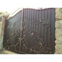 ворота кованые ВК016