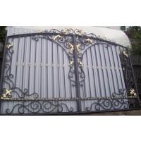 ворота кованые ВК017
