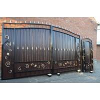 ворота кованые ВК019