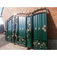 ворота кованые ВК020
