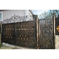 ворота кованые ВК023