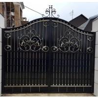 ворота кованые ВК025