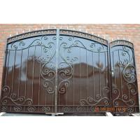 ворота кованые ВК027