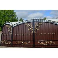 ворота кованые ВК028