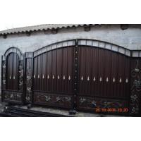 ворота кованые ВК029
