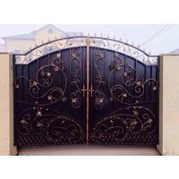 ворота кованые ВК030