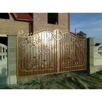 ворота кованые ВК032
