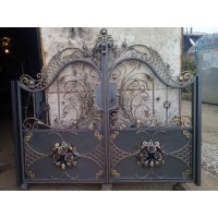 ворота кованые ВК033