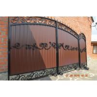 ворота кованые ВК034