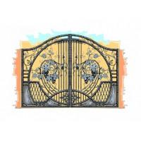 ворота кованые ВК036