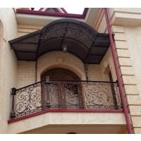 кованые балконы КБ003
