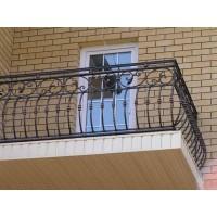 кованые балконы КБ004