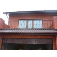 кованые балконы КБ006