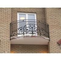 кованые балконы КБ007