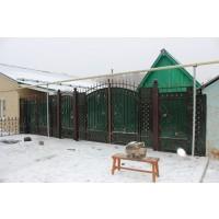 ворота кованые В085