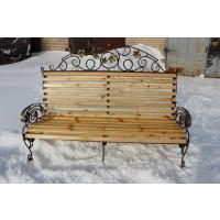 кованые скамейки С004