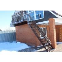 кованые балконы КБ010