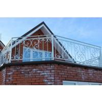 кованые балконы КБ011